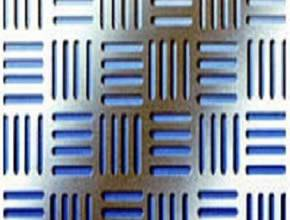 Perforated sheet in decorative slot hole pattern-2
