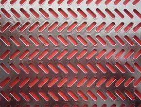 Perforated sheet in decorative slot hole pattern-3
