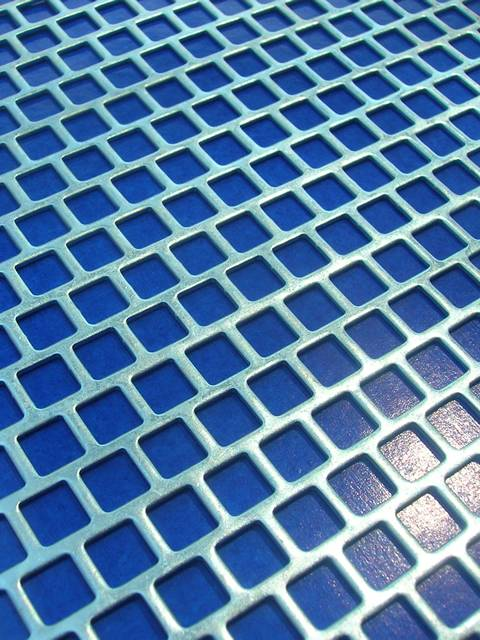 Square Hole Perforated Sheet To Secure Safety And Ventilation